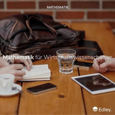 Mathematik Wirtschaftswissenschaften Online Kurs