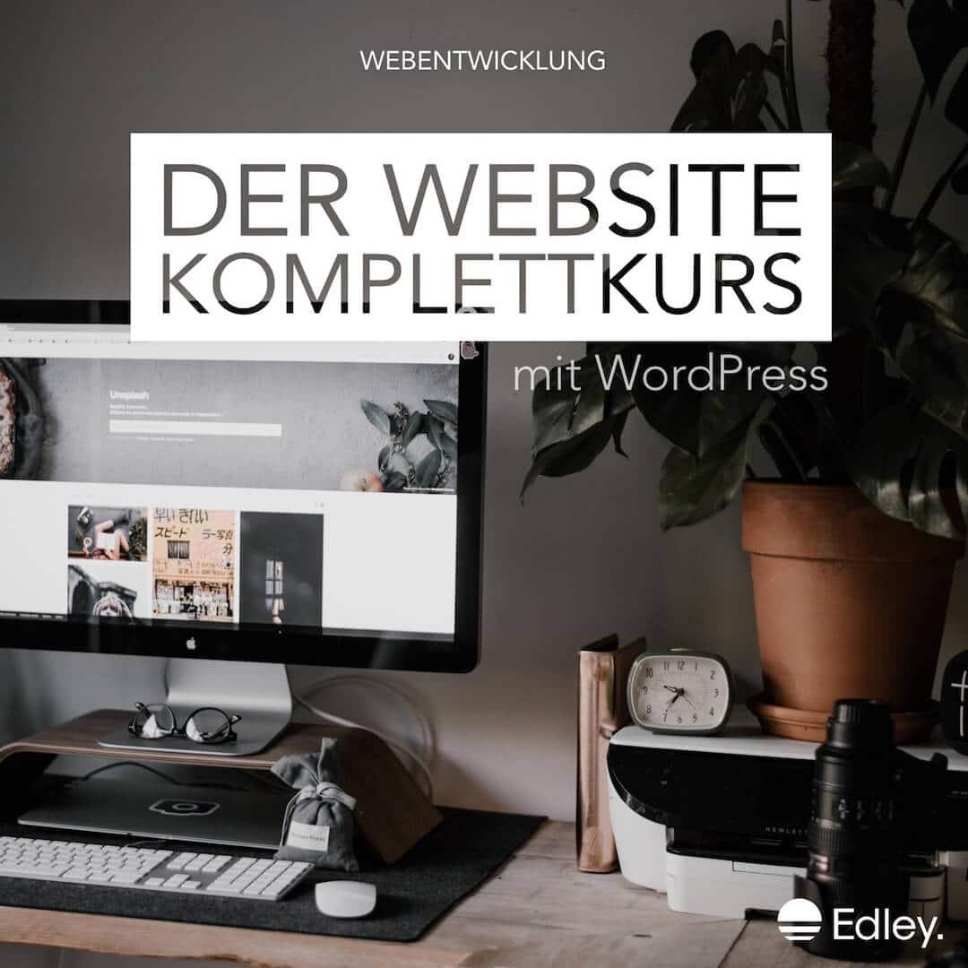 WordPress lernen mit WordPress Kurs online