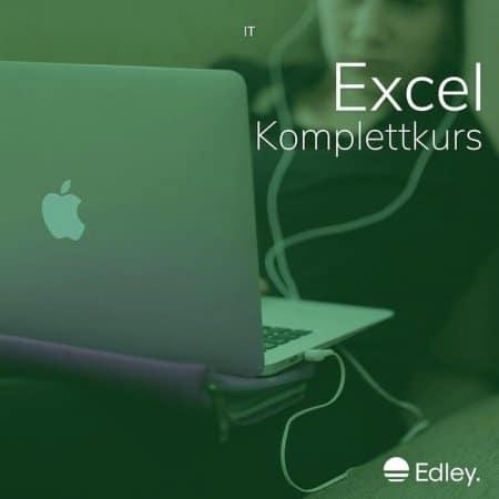 excel lernen online kurs mit zertifikat