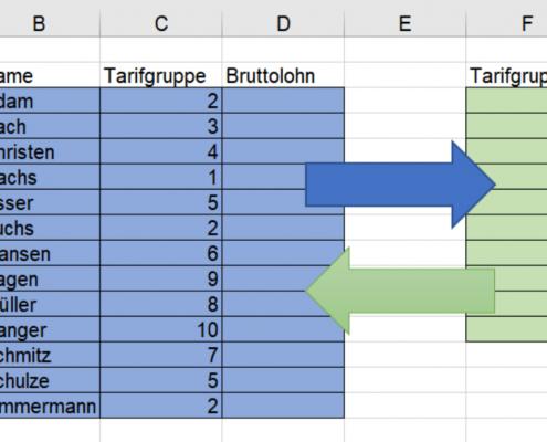 Excel-Verweise