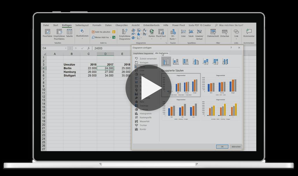 Excel Kurs Video (Tutorial)