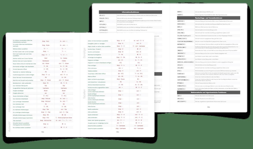 Excel lernen PDF