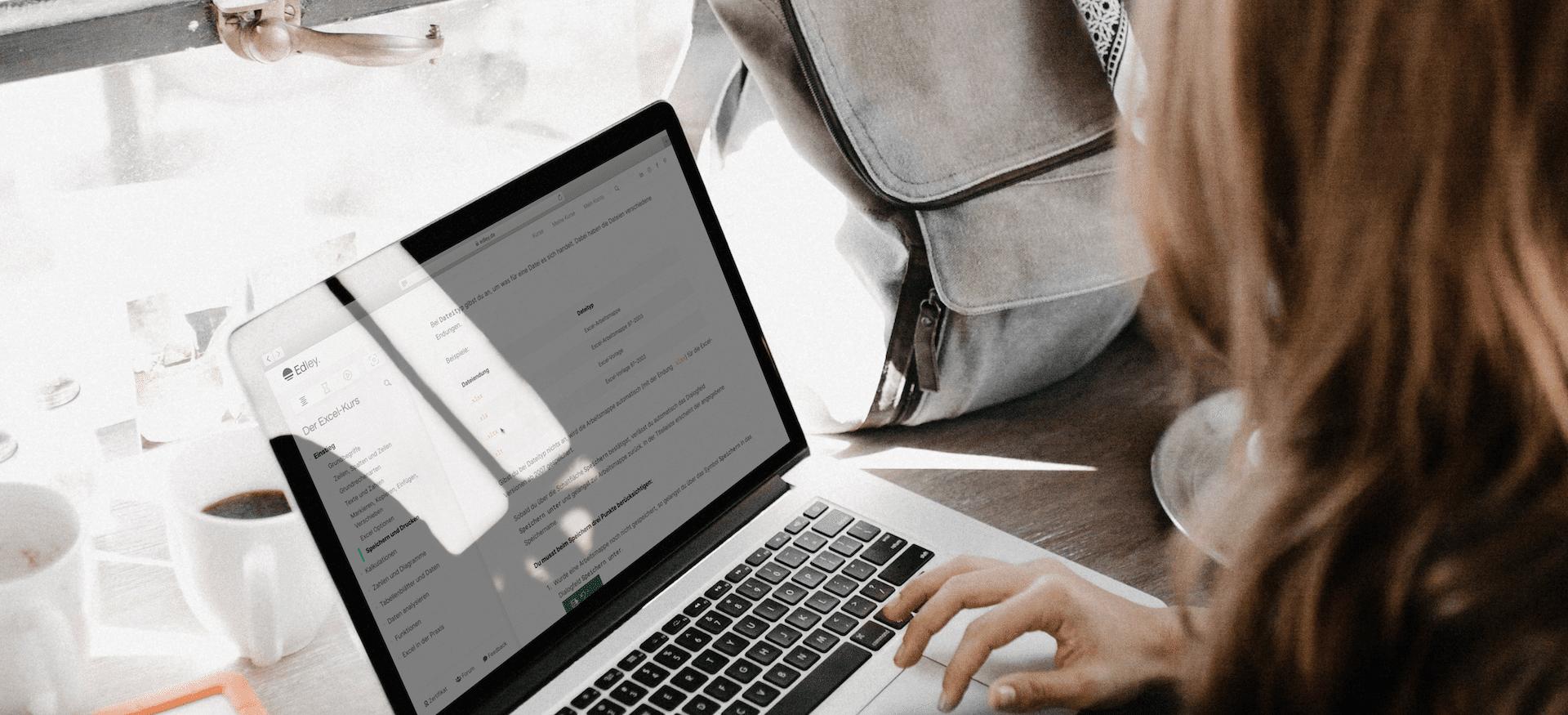 Excel lernen - Online-Kurs mit Zertifikat