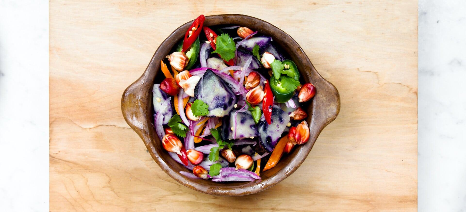 Gesunder Ernährung lernen – Salat Bowl