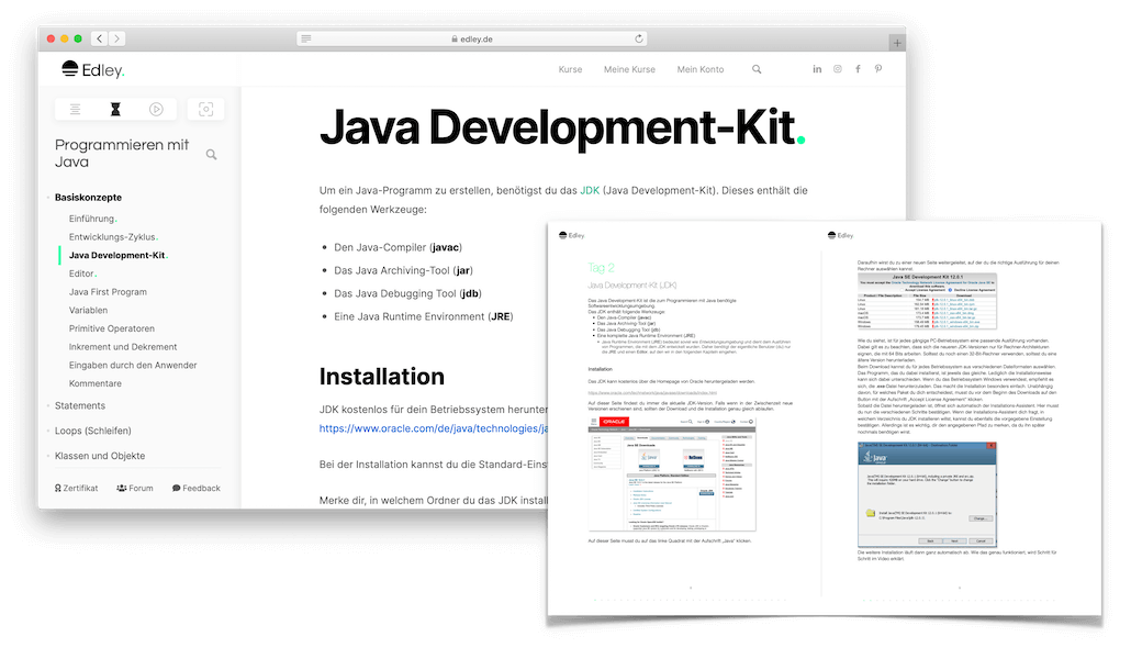 Java Kurs PDF