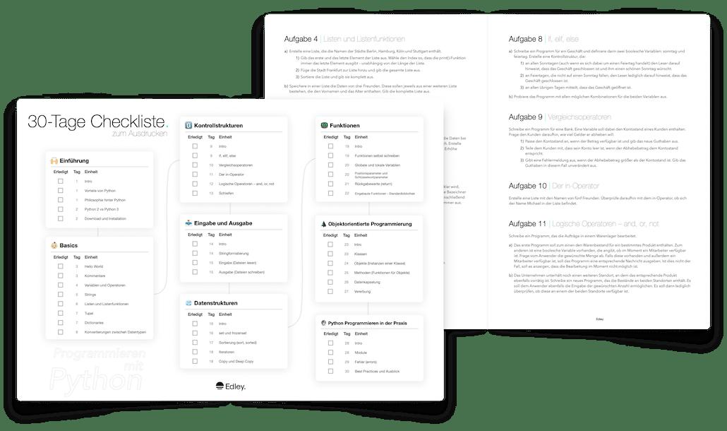 Python lernen PDF